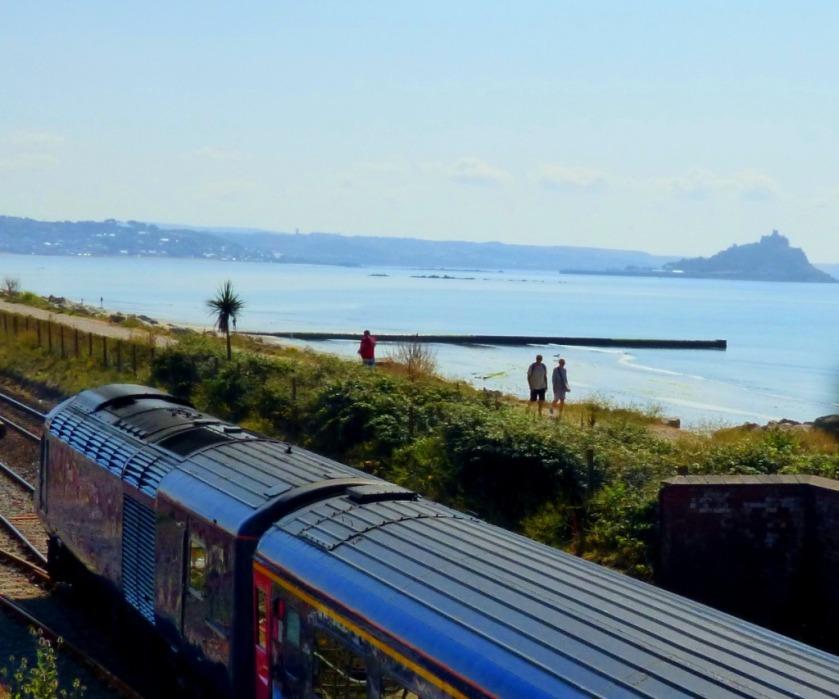Rear of train