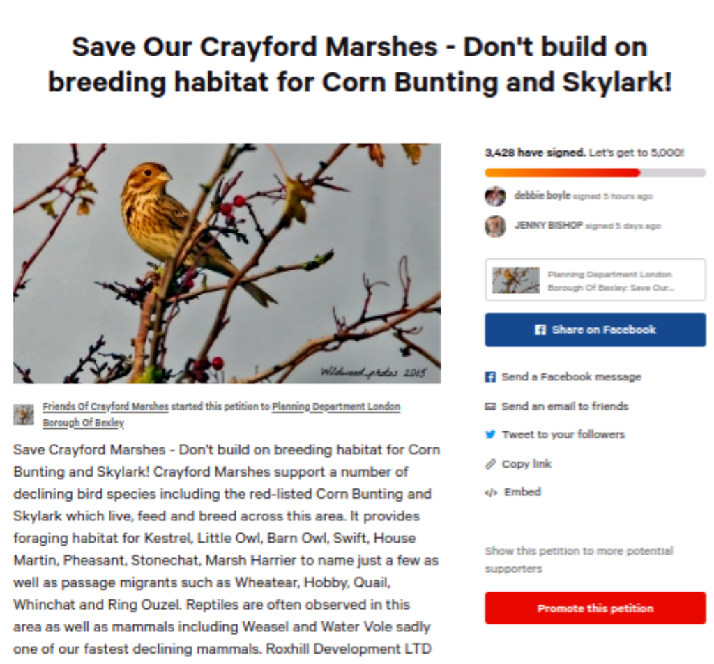 Save Crayford Marshes