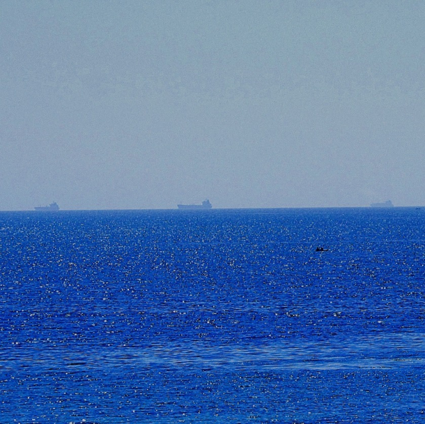 Ships in the distance
