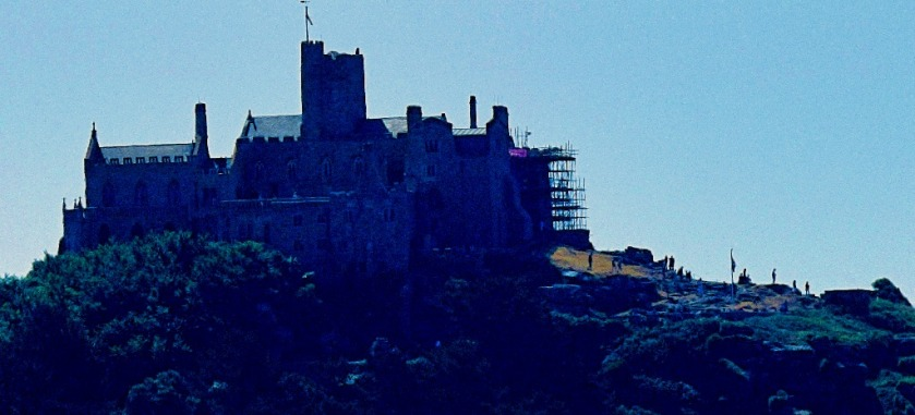 St Aubyn's Abbey from Marazion