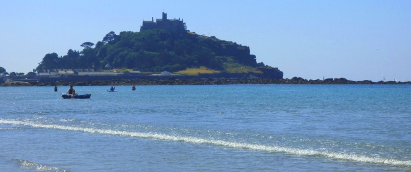St Michaels Mount from Marazion beach
