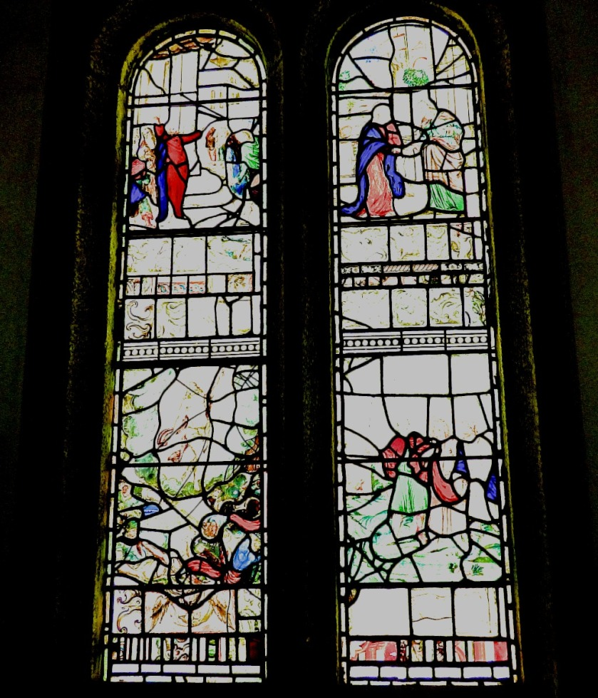 Stained glass V