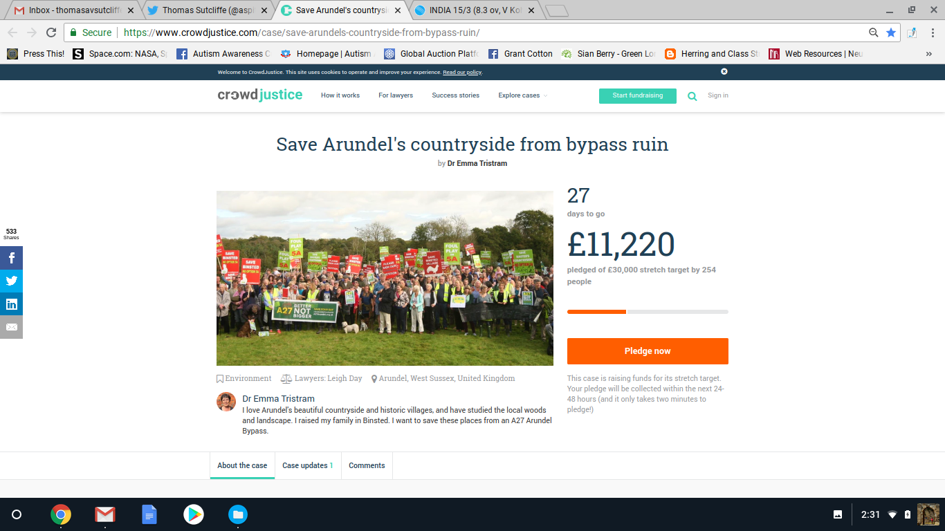 Stop the Arundel bypass