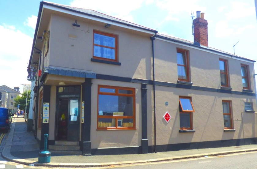 The first (or last) pub in Devon