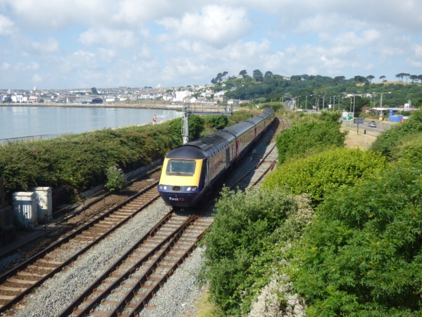 Train heads for Penzance