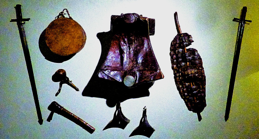 Wall mounted militaria I