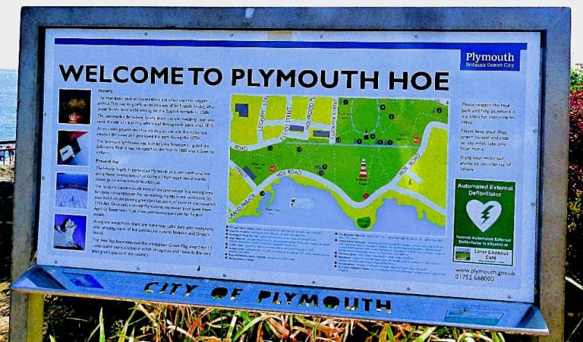 Welcome to Plymouth Hoe