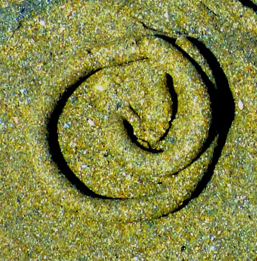 Worm cast