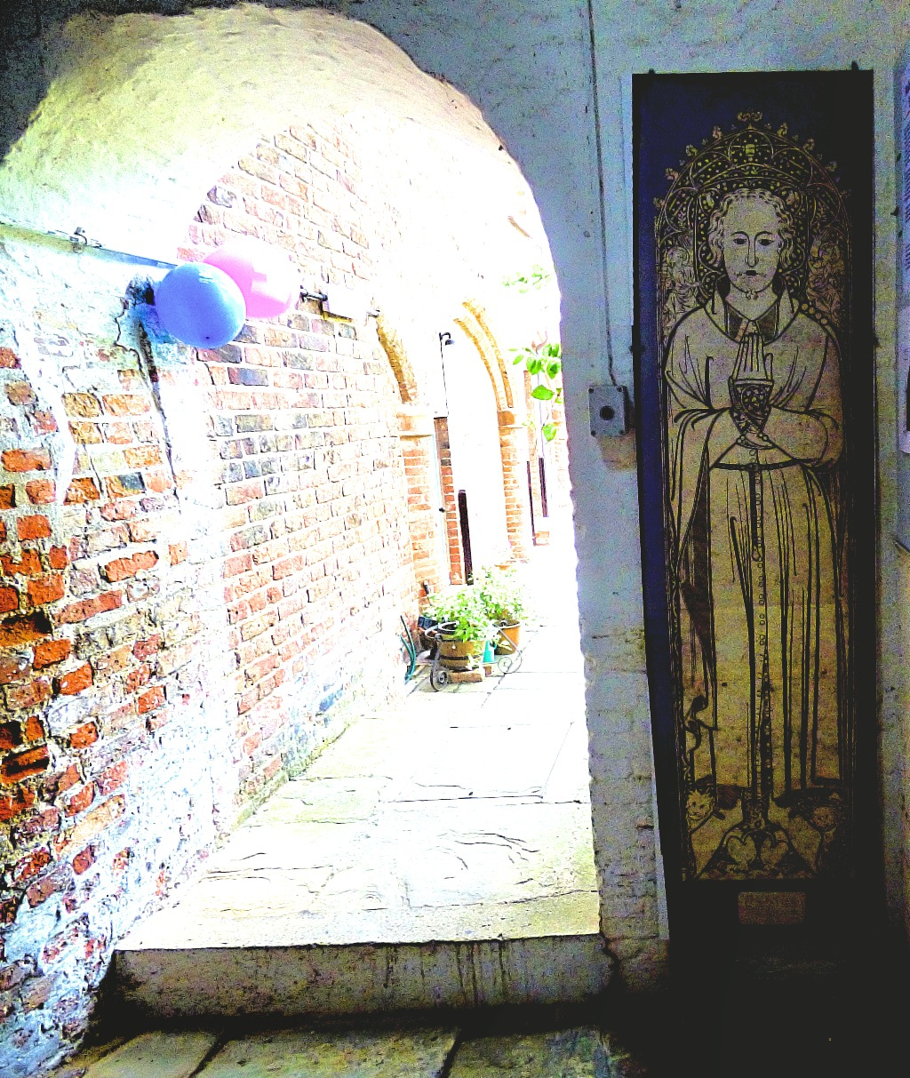 Entrance to secret garden