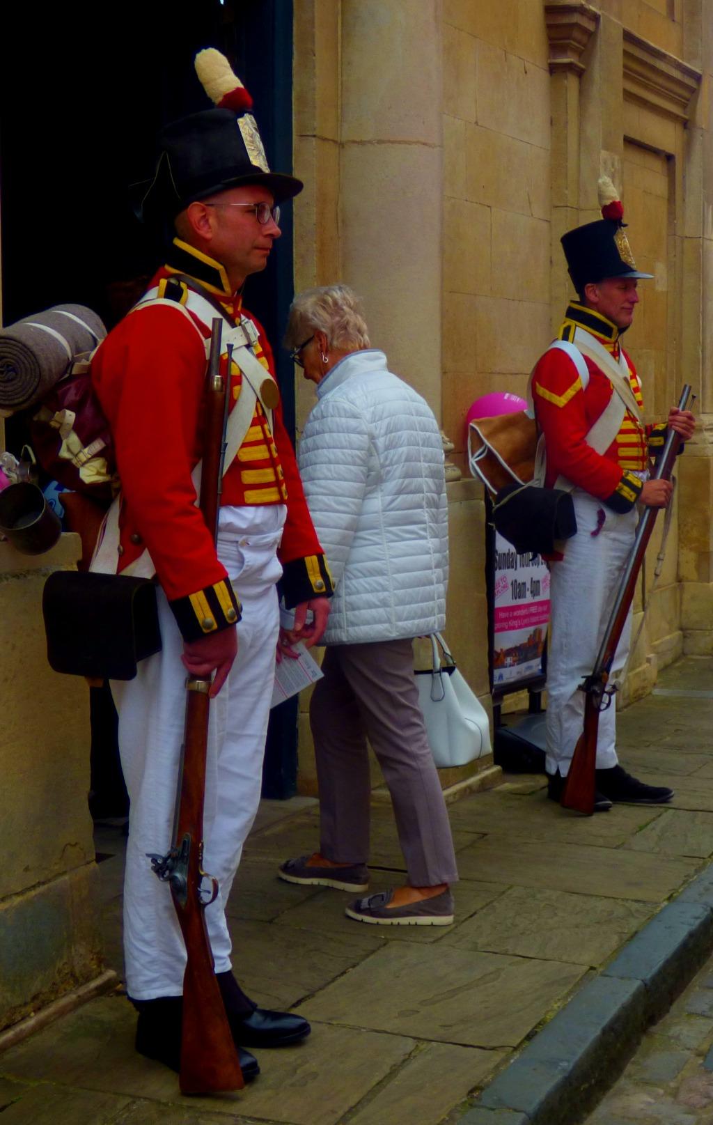 Guarding Custom House