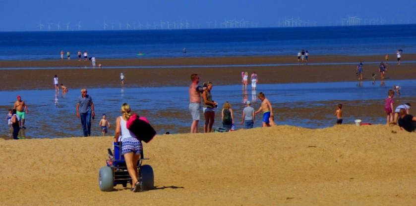 Sandcruiser in action