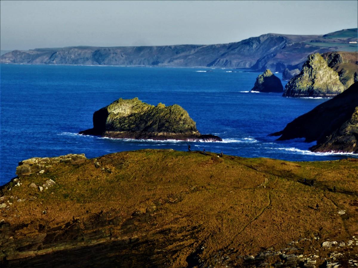 Cornish Winter Break 10: Tintagel 2 Exploring theRuins