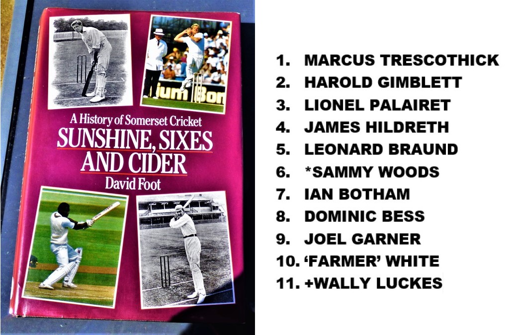 All Time XIs –Somerset