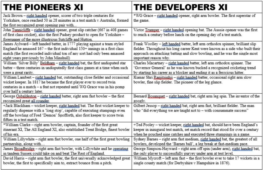 Pioneers v Developers